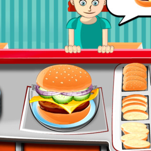 play burger time girl games   kiz10girls