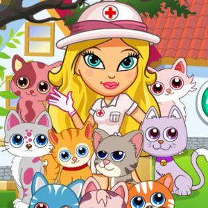 Play Cute Cat Hospital Girl Games - kiz10girls.com