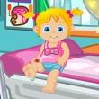 Game Baby Ella Hurts Her Leg