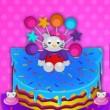 Game Hello Kitty Inspired Cake