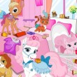 Game Princess Pets Room Cleaninge