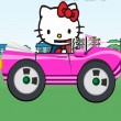 Game  Kitty Ride Car