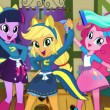 Game Equestria Girls Classroom Cleaning