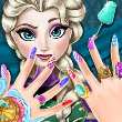 Game Ice Queen Nails Spa