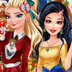 Game Princesses In Christmasland
