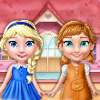 Game Ellie and Annie: Doll House