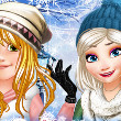 Princesses Winter: School Look Book