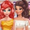 princesses-bffs-selfies