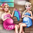 Cute Mommies: Pregnant Sauna