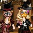 sisters-halloween-preparations