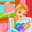 Game Elsa Gives Birth