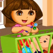 Game Dora The Babysitter Slacking