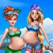 Game Pregnant Moms Exotic Holiday
