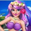 Game Princess Mermaid Makeup Style