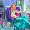 Play Barbie Twins Birth Game Online