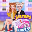 Play Frozen Sisters: Design My Shoes Game Online