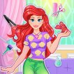 Play Magical Mermaid Hairstyle Game Online