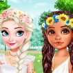 Play Design My Stylish Flower Crown Game Online
