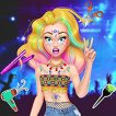Play Music Festival Hairstyles Game Online