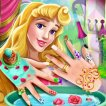 Play Sleeping Princess Nails Spa Game Online