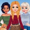 Girl game BFFs Winter Outfits Design
