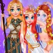 Girl game Princesses Become Magical Creatures
