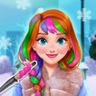 Girl game Annies Winter Chic Hairstyles