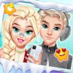 Girl game Couple #Selfie Winter Outfit