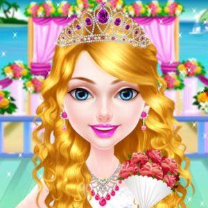 Wedding Hairdresser For Princesses Girl Games Kiz10girls Com