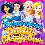 Princess Outfits Change Over