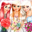 bride-and-bridesmaids-dress-up