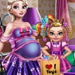 Game Mommy Elsa: Baby Shopping