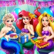 Game Mermaid Birthday Party