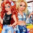 Game BFFs Patchwork Jeans