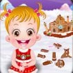 baby-hazel-gingerbread-house