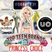 Top Teen Brands: Princess Choice