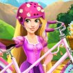 Game Rapunzel Repair Bicycle