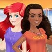 ariel-and-moana-princess-on-vacation