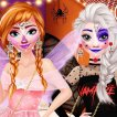 Game Frozen Sisters Halloween Party